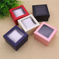 Gift Box Paper/Custom PVC Window Paper Package Box