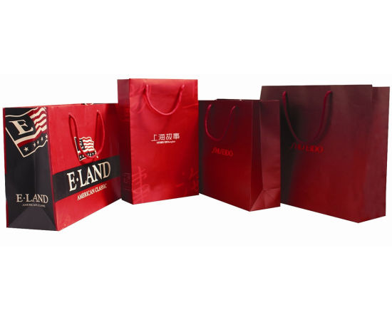 2016 New Design Luxury Paper Bag, Shopping Paper Bag