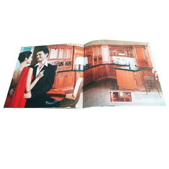 Great Quality Softcover Fashion Magazine Printing