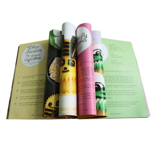 High Quality Soft Cover Book Printing in Shenzhen
