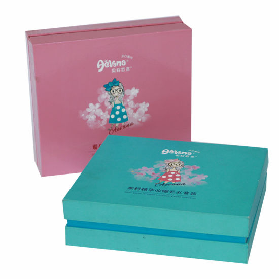 Top and Bottom Paper Packaging Box Printing
