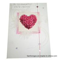 Colorful Heart-Shaped Wedding Invitation Cards Printing