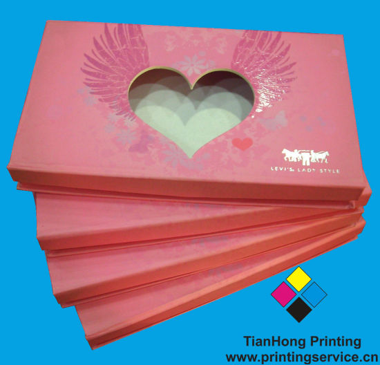 Recycled Paper Cardboard Packaging Gift Box (OEM-BX003)