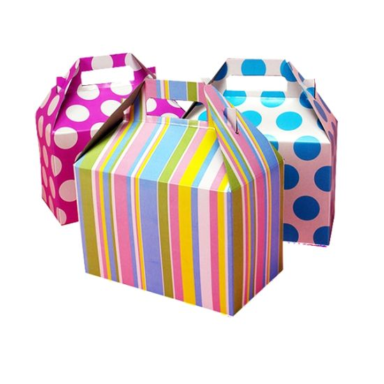 Foldable Paper Box for Gift and Candy