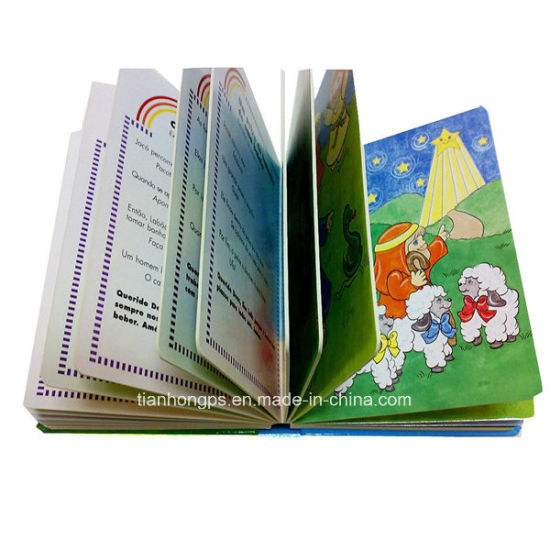 Perfect Binding Children Cardboard Cartoon Book