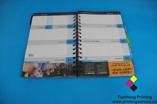 Customized Notebook Printing in Factory Price