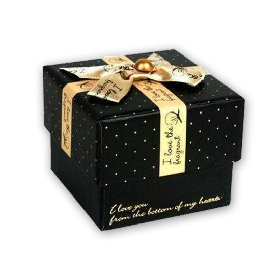 Fancy Artwork Jewelry Paper Box