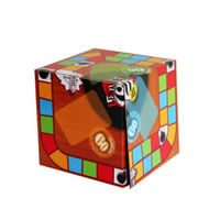 Full Color Paper Cube Box