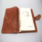Leather Notebook Printing with One Colour Printing