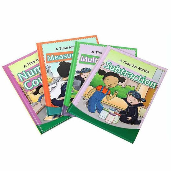 Hard Cover Children Book Printing with Good Price