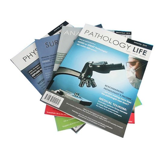 High Quality Cheap Price magazine Printing Service