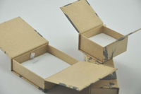 Custom Made Folding Paper Boxes Printing, Kraft Paper Gift Box