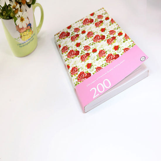 Custom Color Printed Paper Notebooks
