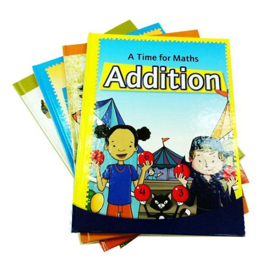 Educational Math Book Printing for Children Learning 2016